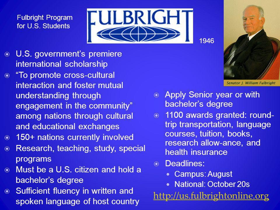 Fulbright Program for U.S. Students
