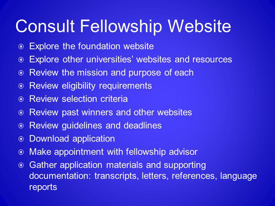 Consult Fellowship Website