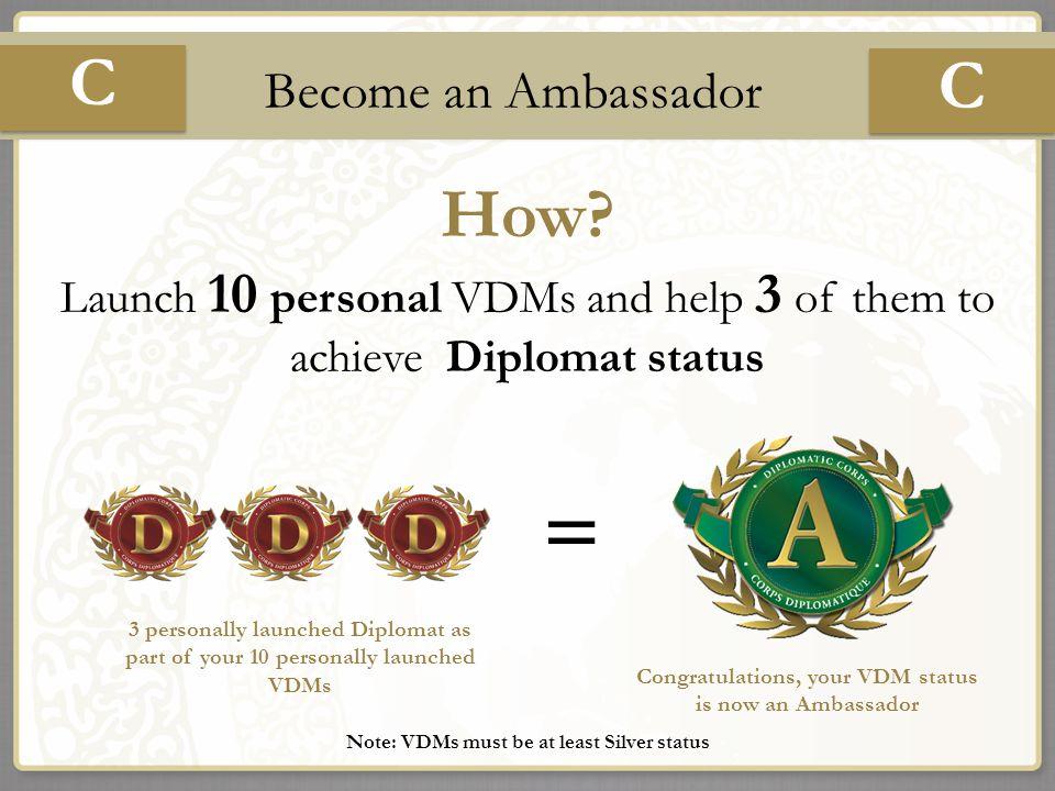 C How II Become an Ambassador