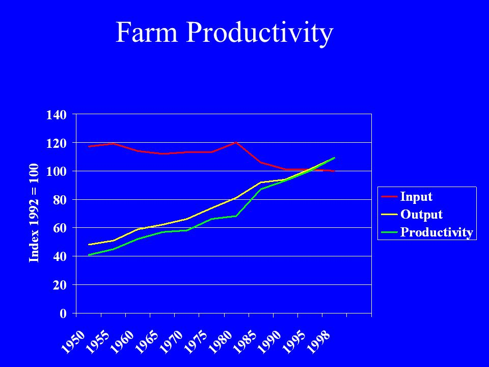 Farm Productivity