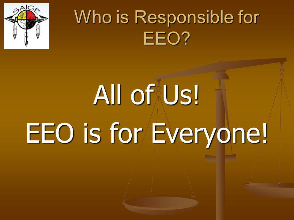 Who is Responsible for EEO