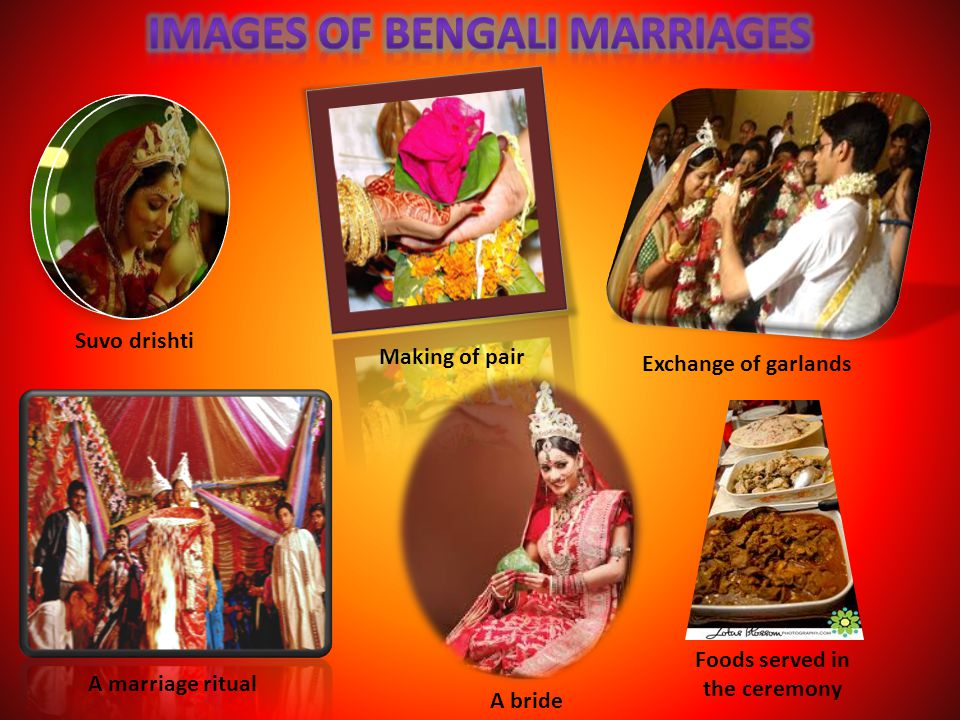 Images of Bengali Marriages
