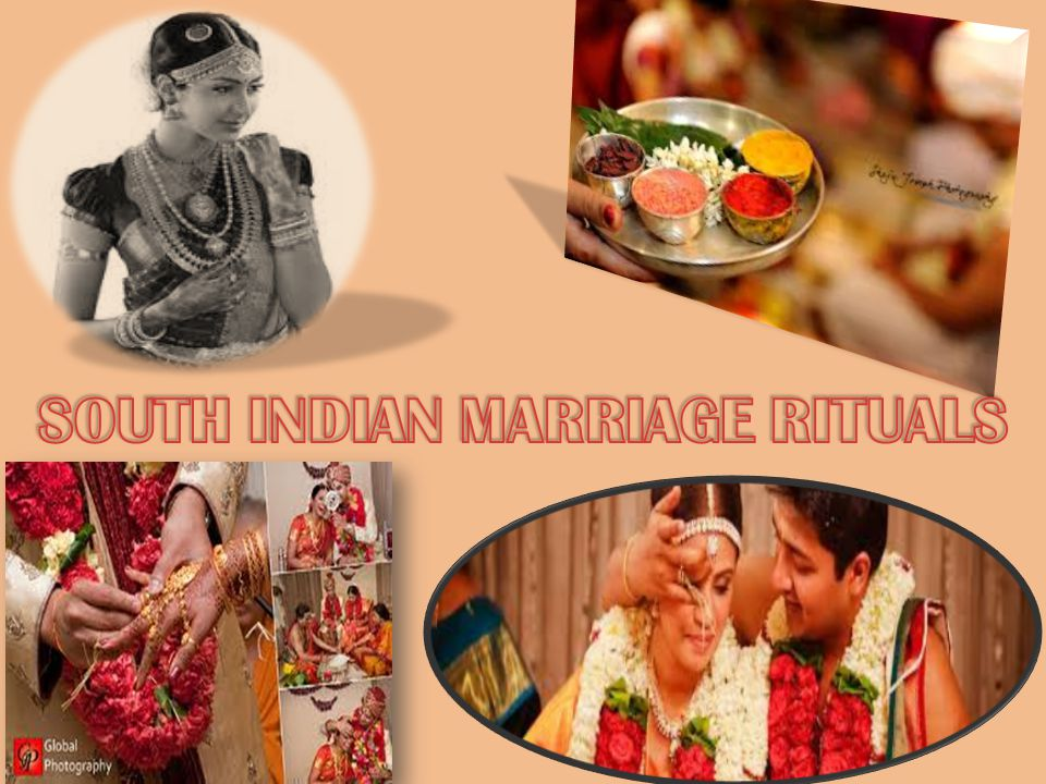 SOUTH INDIAN MARRIAGE RITUALS