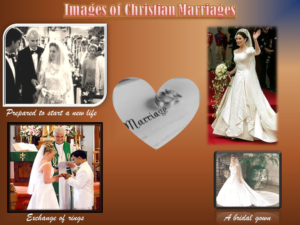 Images of Christian Marriages