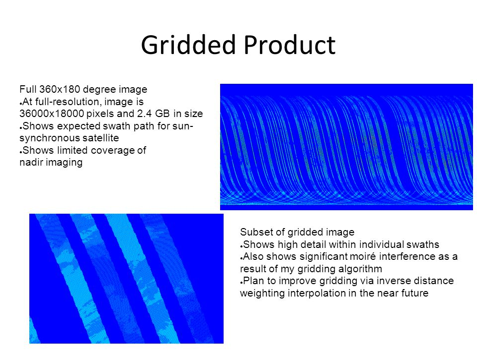 Gridded Product Full 360x180 degree image