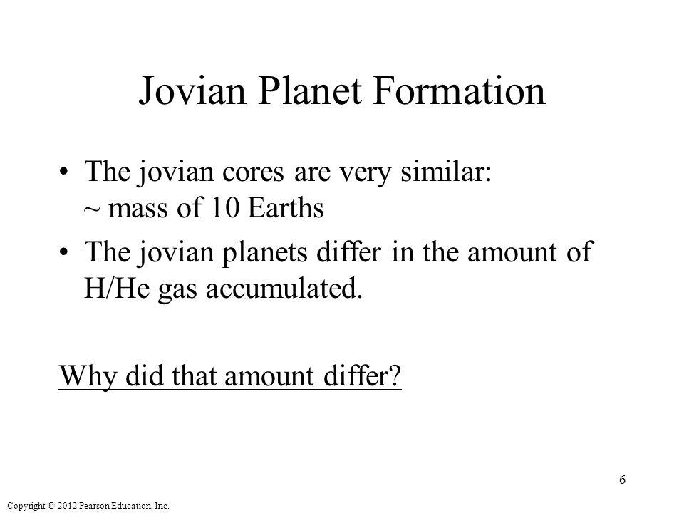 Jovian Planet Formation