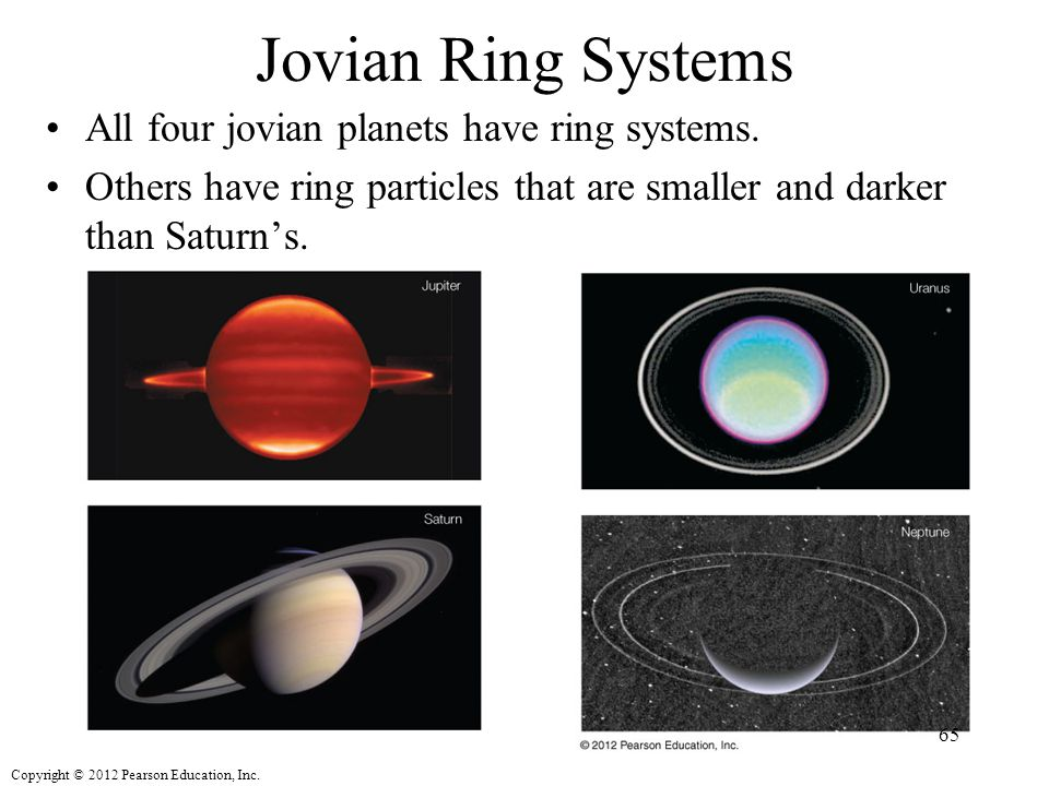 what planets have rings around it - photo #29