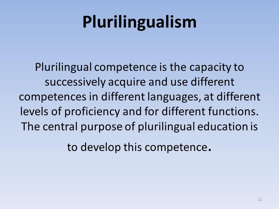 Plurilingualism