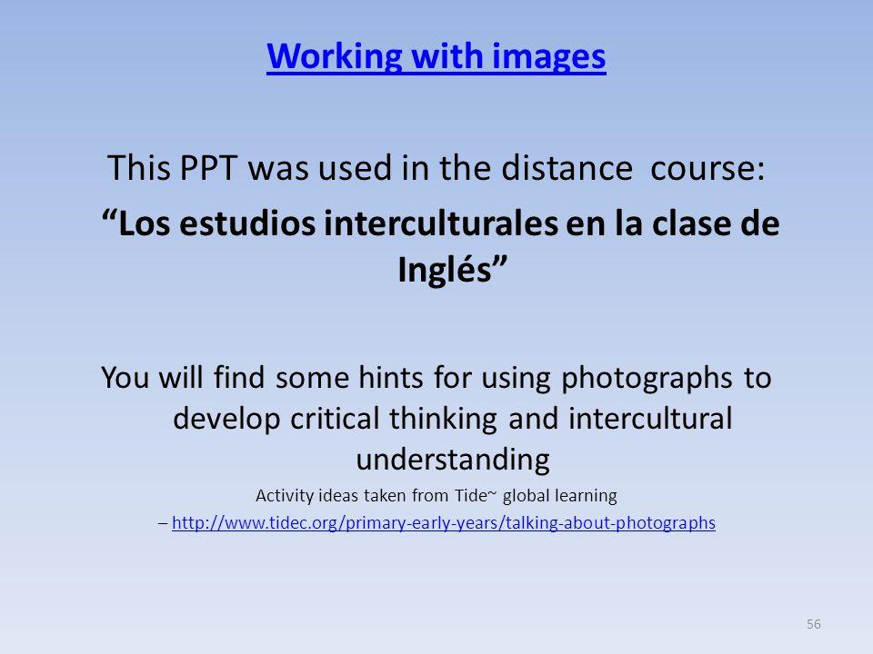 Los estudios interculturales en la clase de Inglés