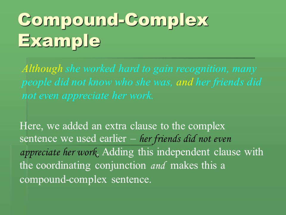 Compound-Complex Example