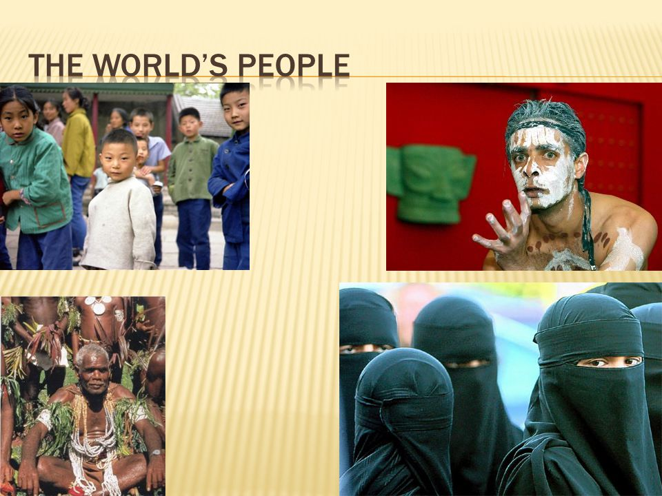 The World's People