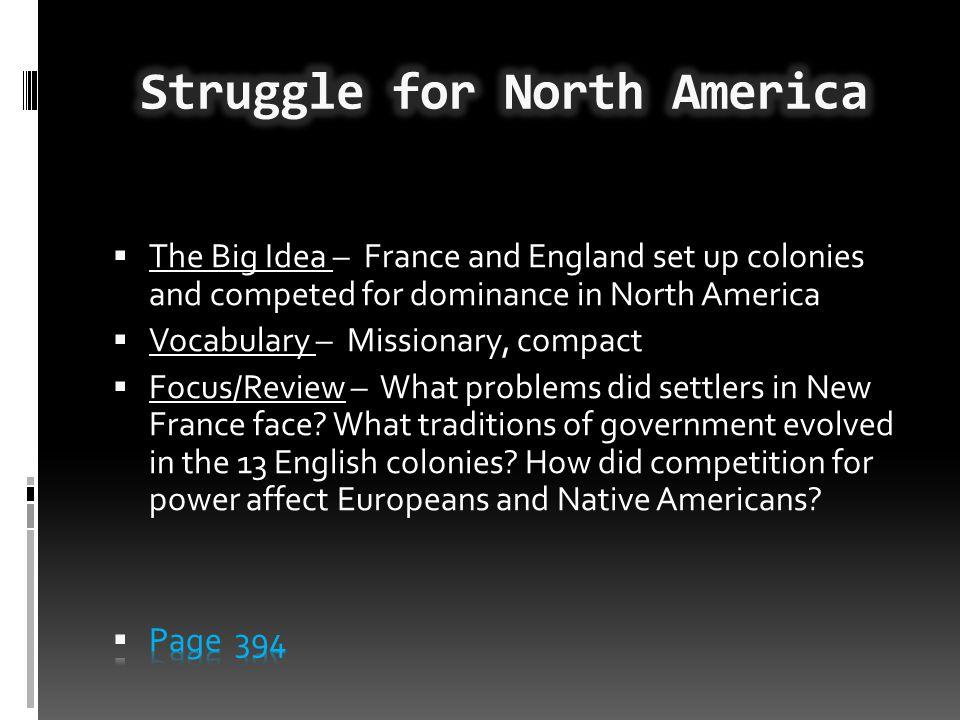 Struggle for North America