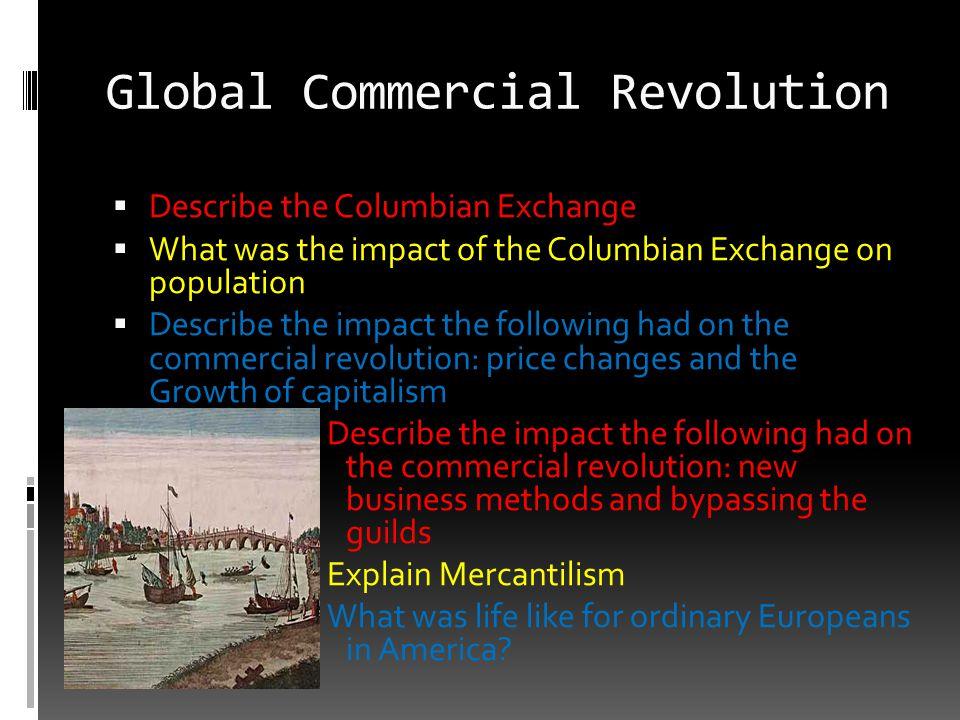Global Commercial Revolution