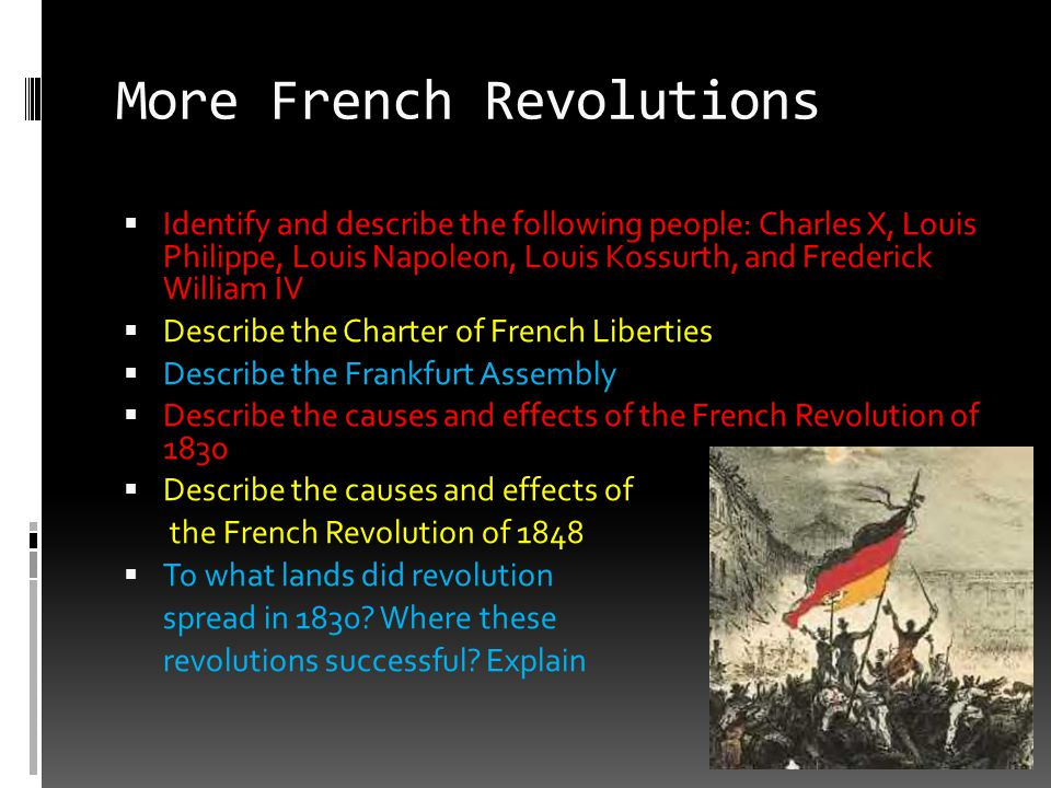 More French Revolutions