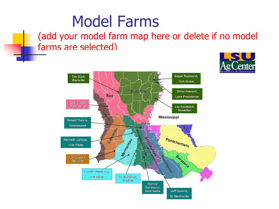 Model Farms (add your model farm map here or delete if no model farms are selected)