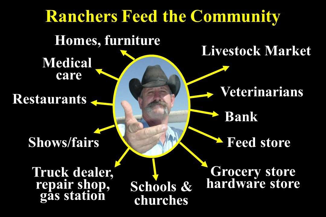 Ranchers Feed the Community