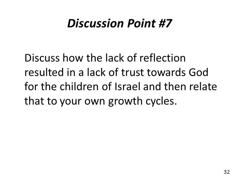 Discussion Point #7