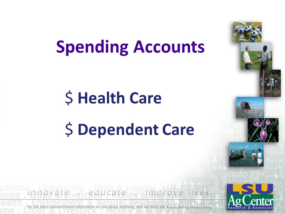 Spending Accounts Health Care Dependent Care