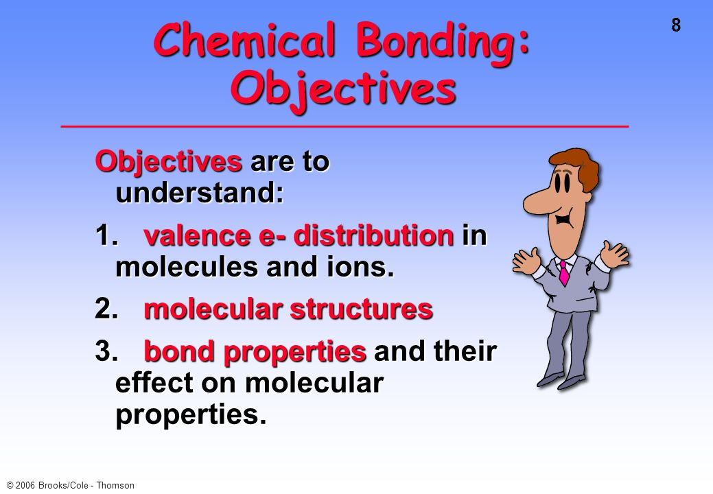 Chemical Bonding: Objectives
