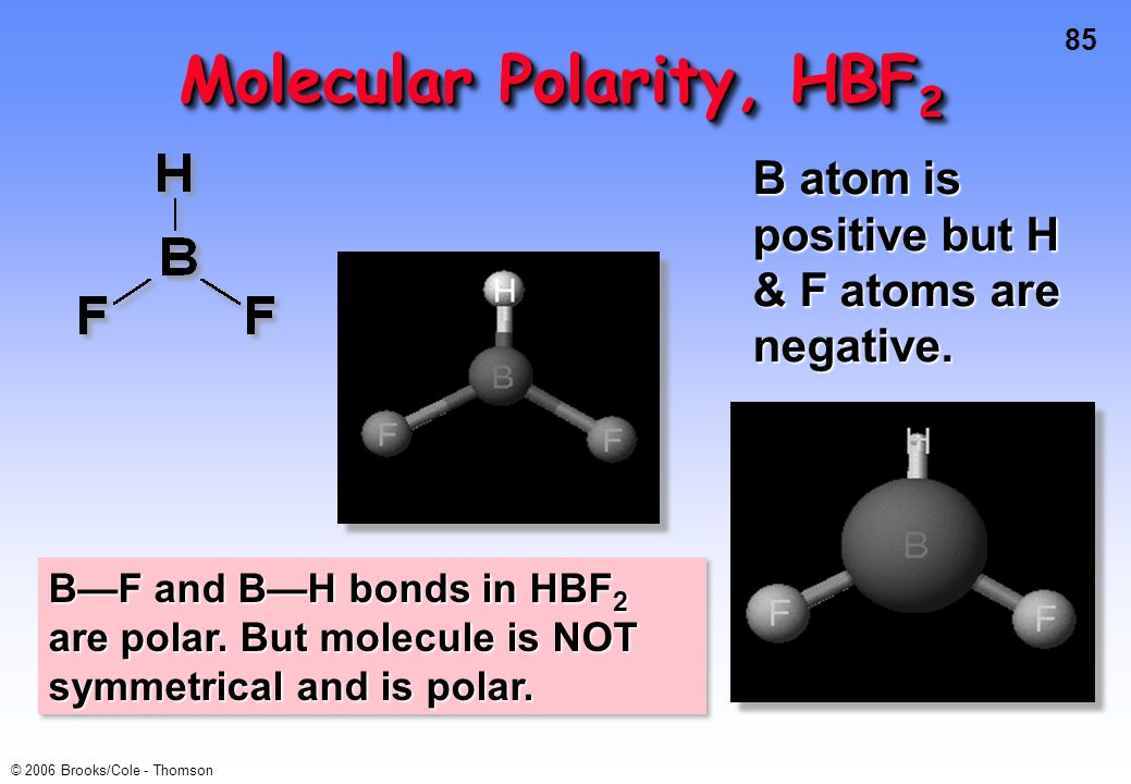 Molecular Polarity, HBF2