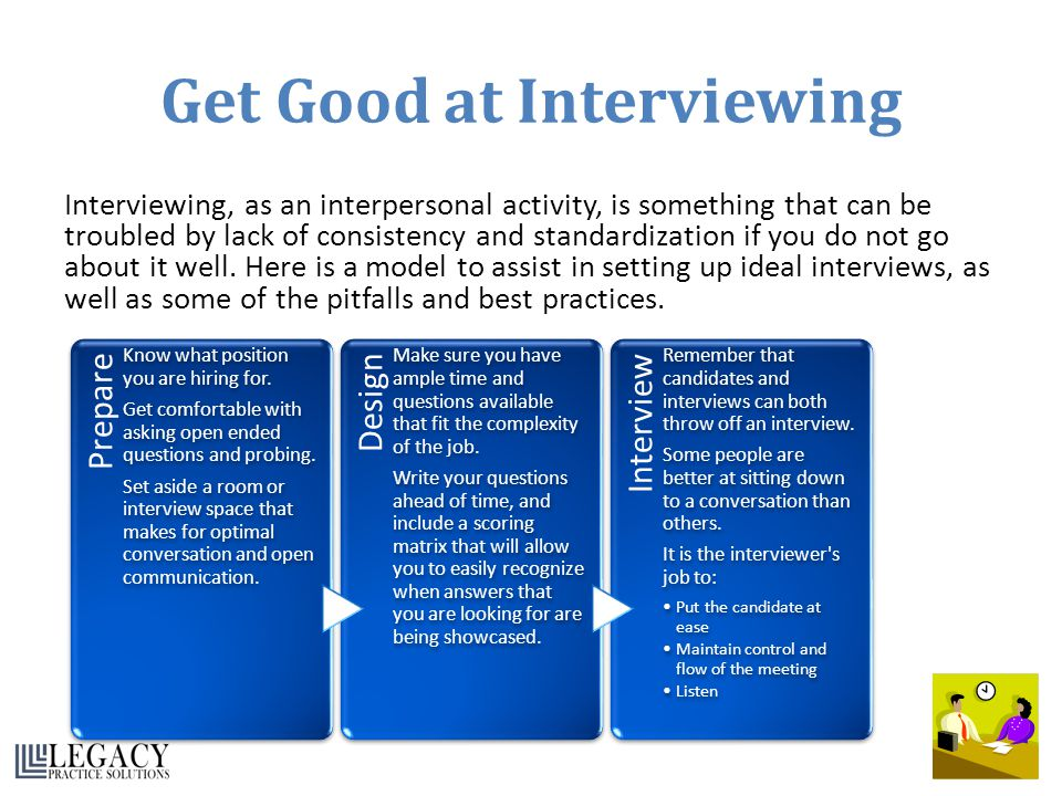 Get Good at Interviewing
