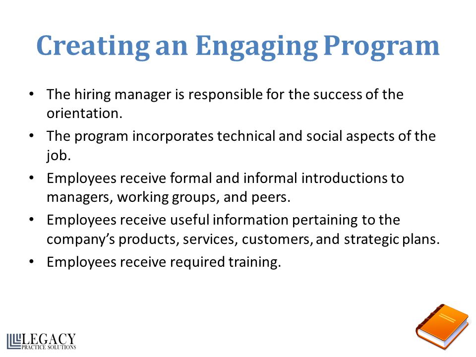 Creating an Engaging Program