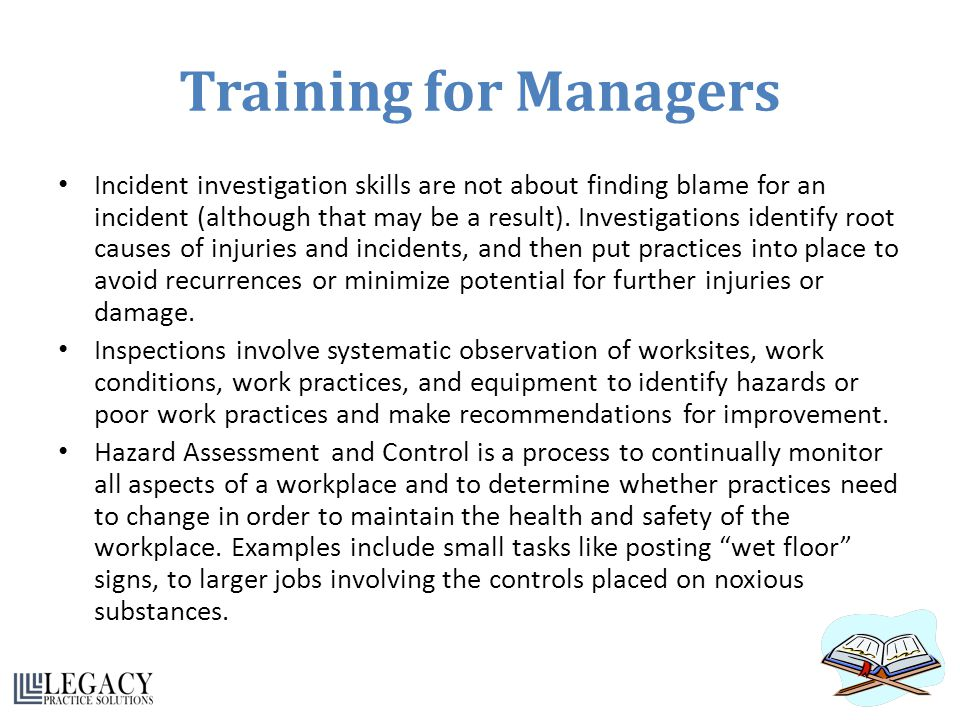 Training for Managers