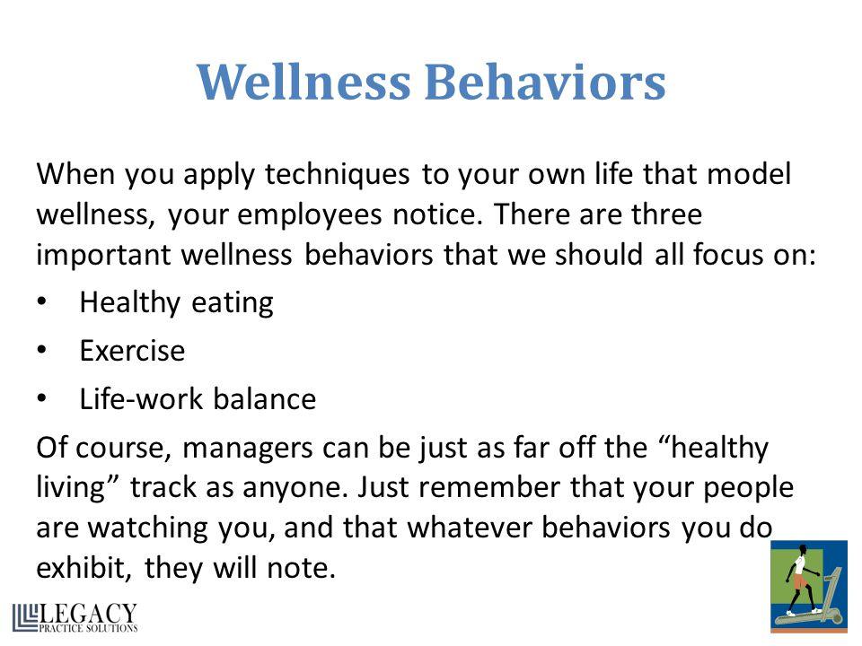 Wellness Behaviors