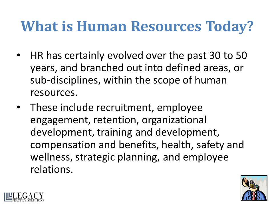 What is Human Resources Today