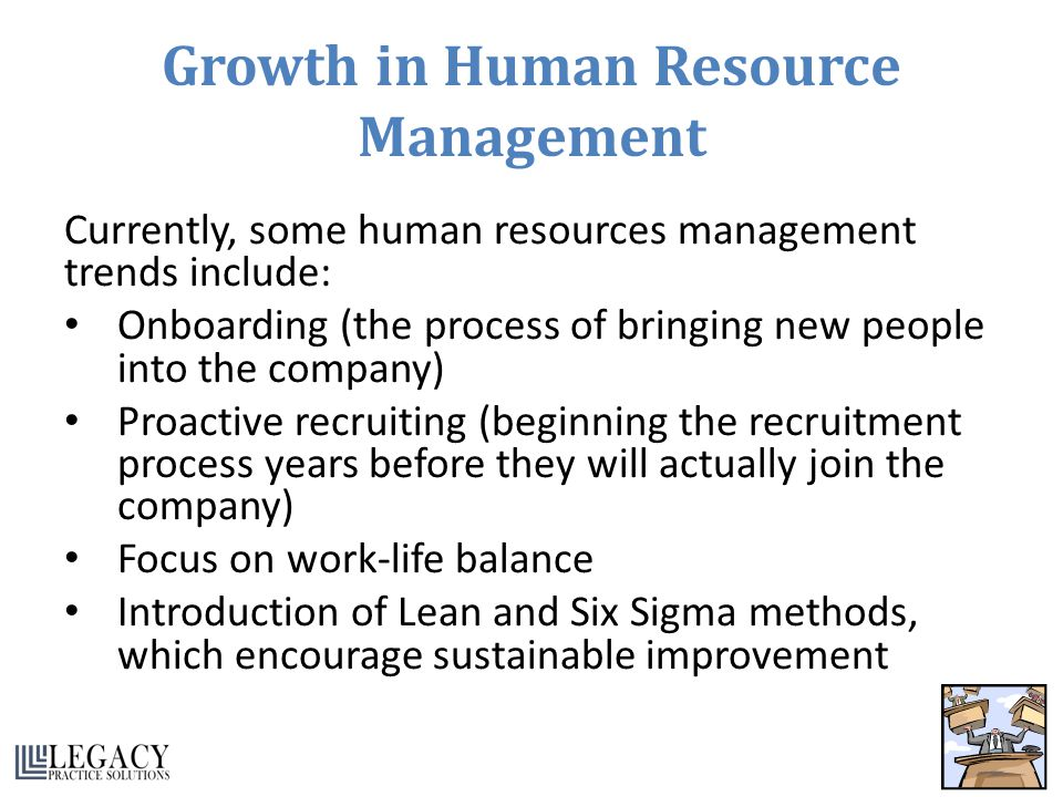 Growth in Human Resource Management