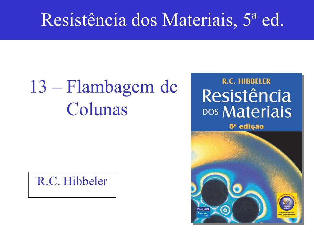 Resistência dos Materiais, 5ª ed.