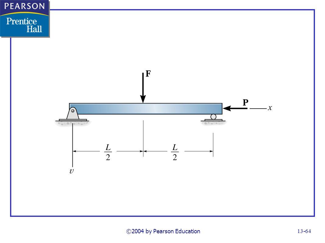 FG13_14-28UNP44.TIF Notes: Problem 13-44 ©2004 by Pearson Education