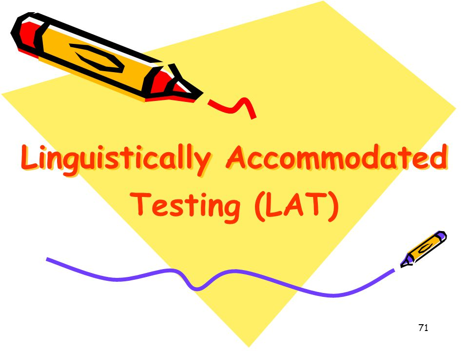 Linguistically Accommodated