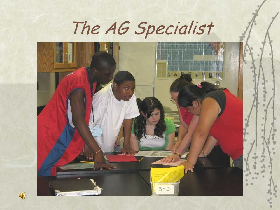 The AG Specialist