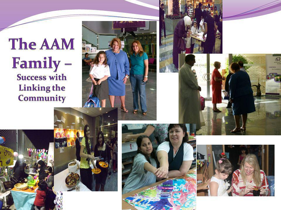 The AAM Family – Success with Linking the Community