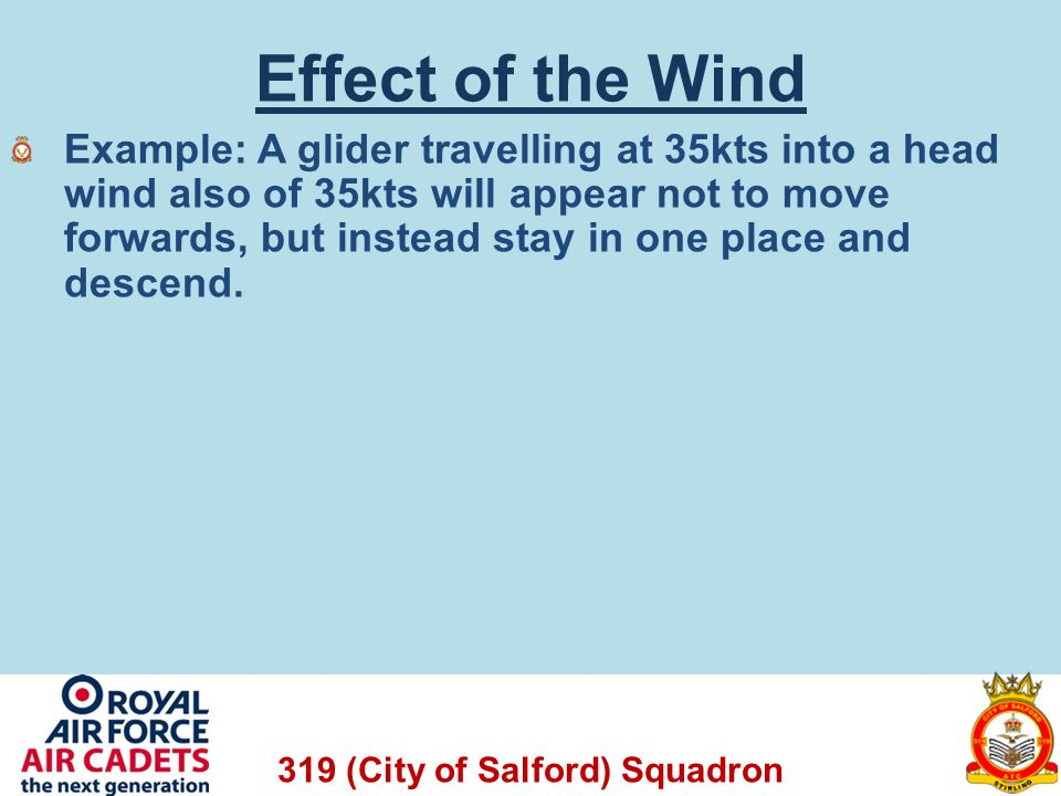 Effect of the Wind