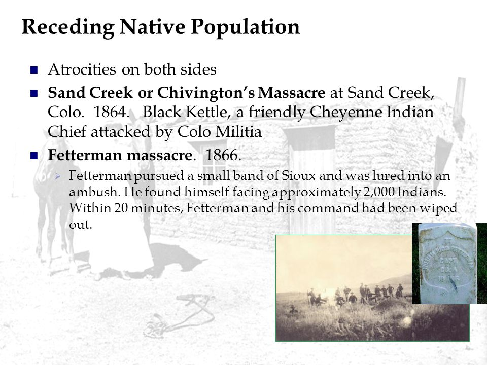 Receding Native Population