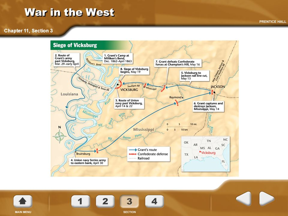 War in the West Chapter 11, Section 3
