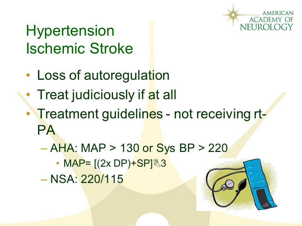 Hypertension Ischemic Stroke