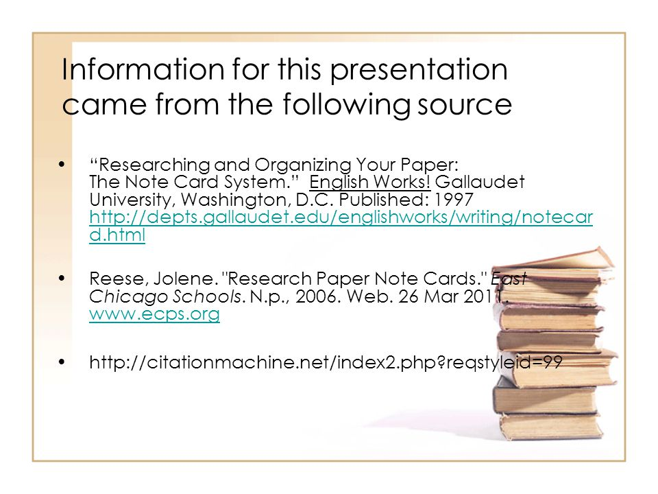 english research paper note cards How to organize a research paper using notecards  how do i organize my research use notecards (3x5 index cards)   .