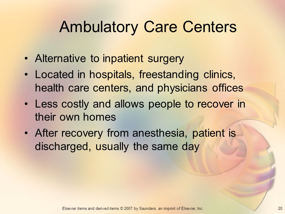 Ambulatory Care Centers