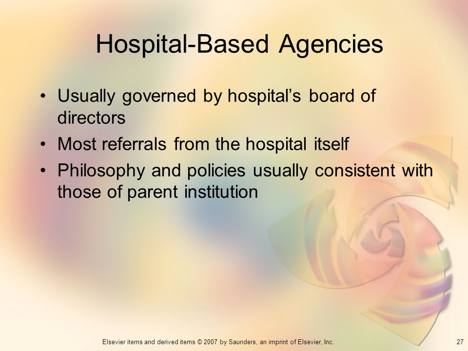 Hospital-Based Agencies