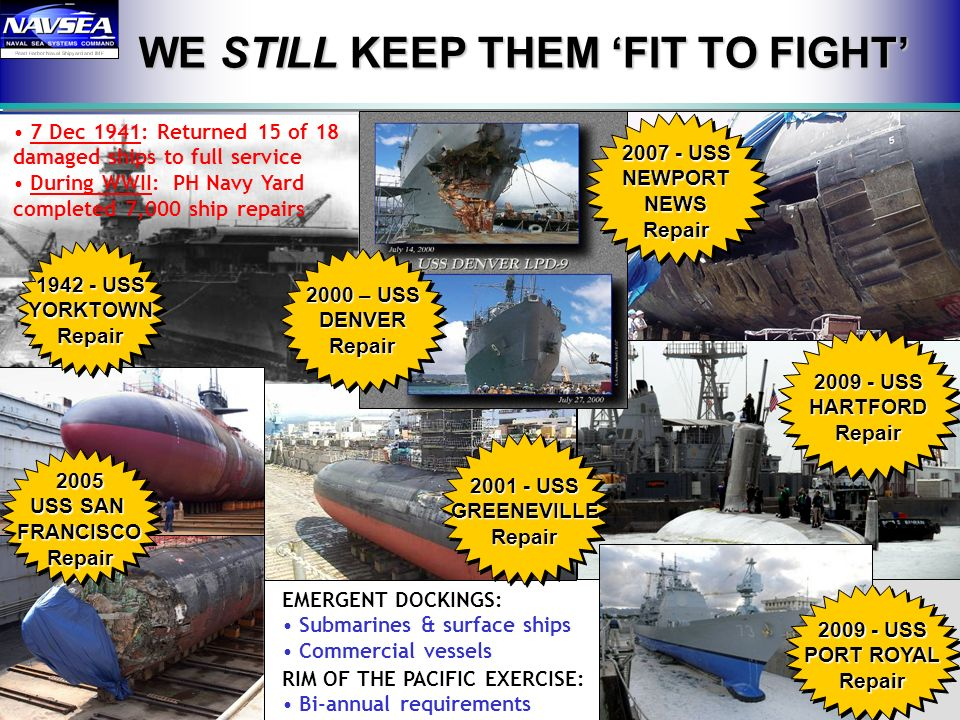 WE STILL KEEP THEM 'FIT TO FIGHT'