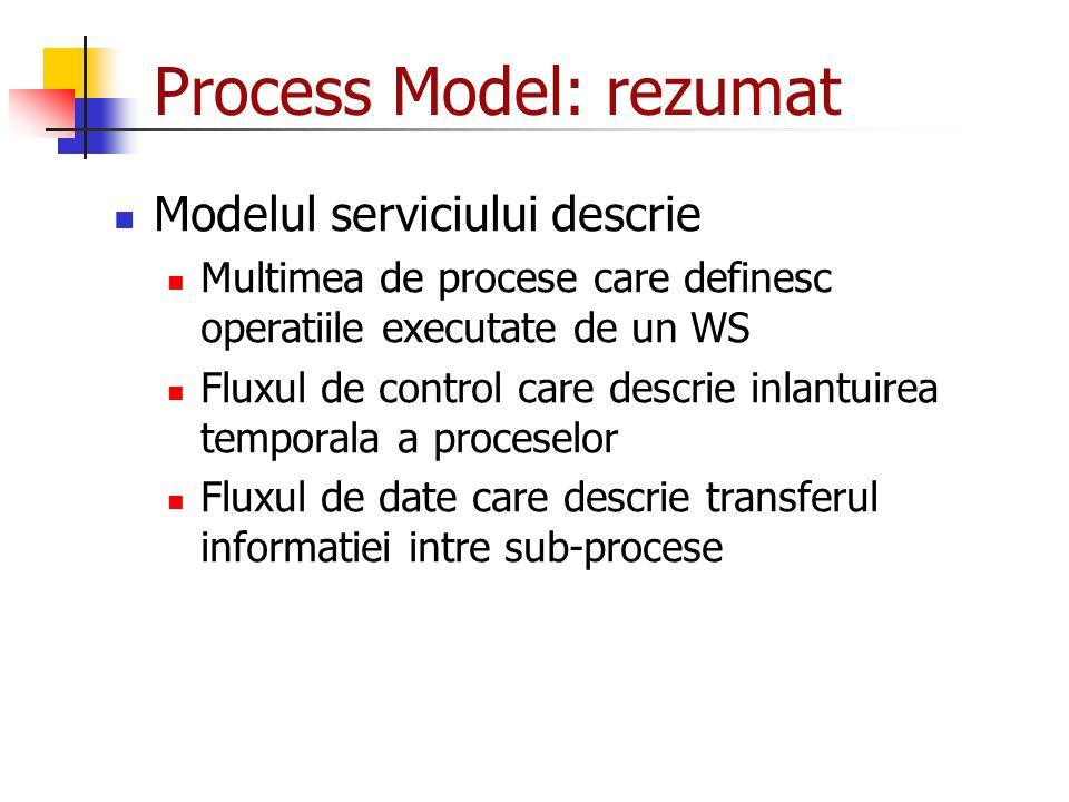 Process Model: rezumat