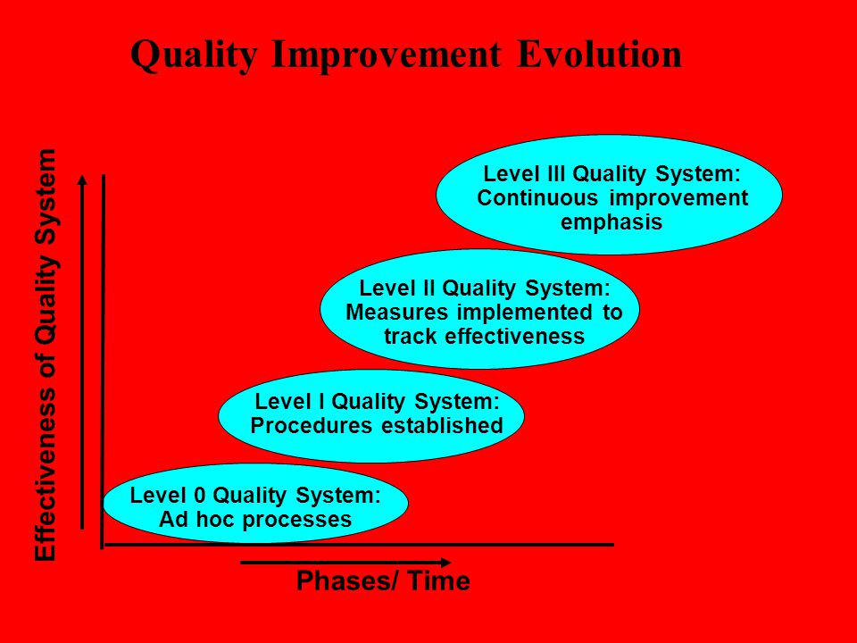Quality Improvement Evolution