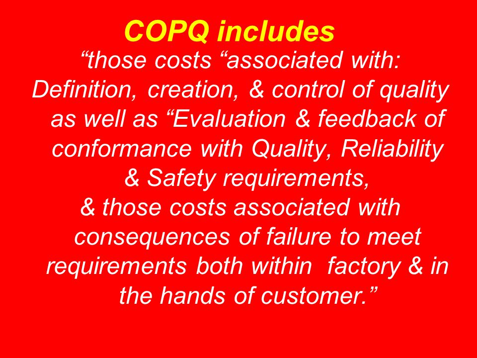 those costs associated with: