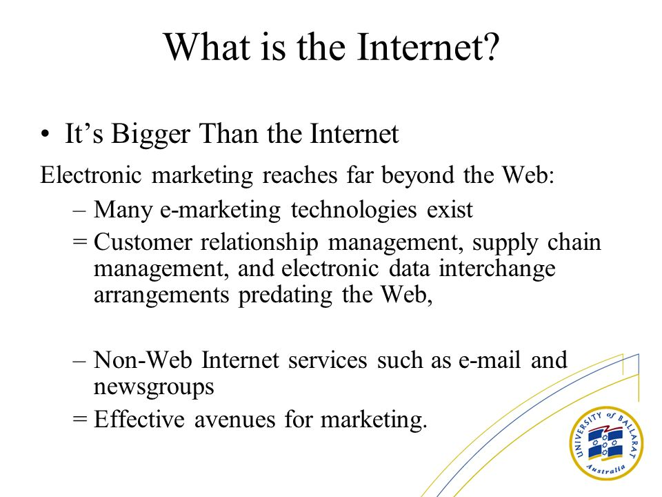 What is the Internet It's Bigger Than the Internet