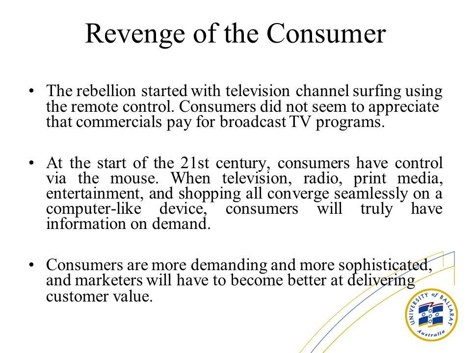 Revenge of the Consumer