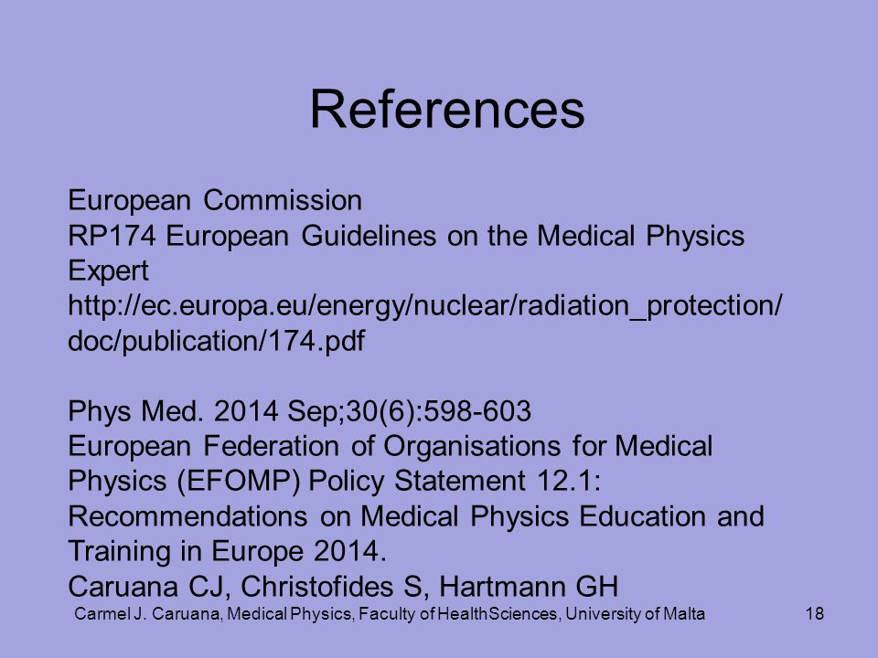 References European Commission