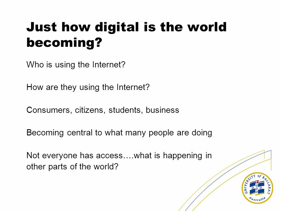 Just how digital is the world becoming
